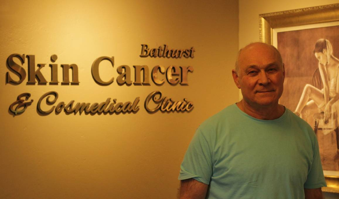 GET CHECKED: Bathurst Skin Cancer and Cosmedical Centre's Dr. Vladimir Shcherbinin wants people to get their skin checked. Photo: BRADLEY JURD