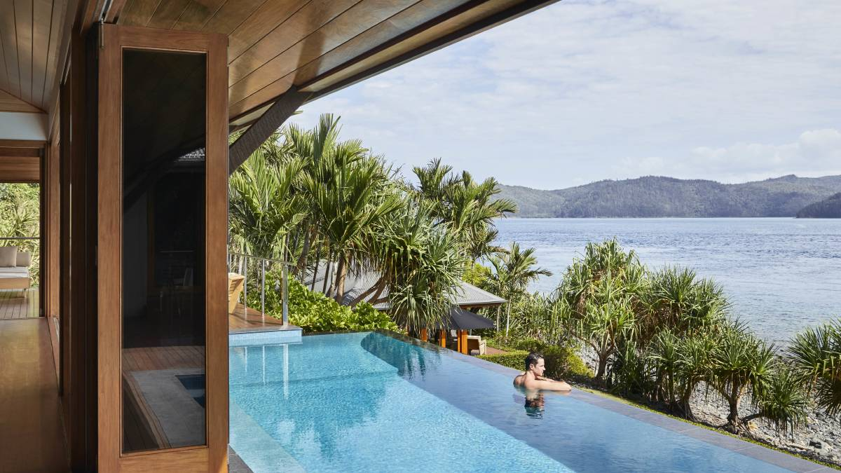 Hamilton Island's Qualia is considered Australia's number one luxury accommodation.