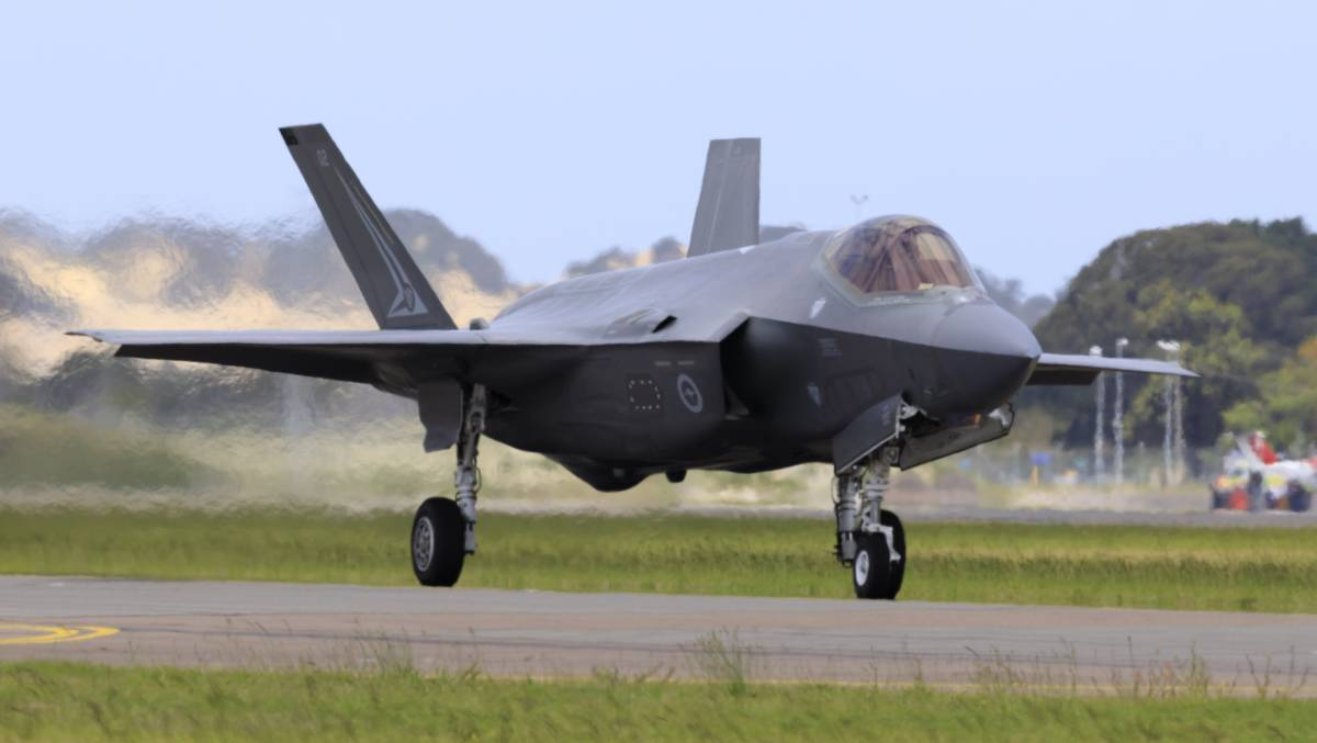 FLYING SOON: Up to two Royal Australian Air Force F-35A Lightning II jet fighter aircraft from the No. 2 Operational Conversion Unit will conduct low-level flying over Central West very shortly.