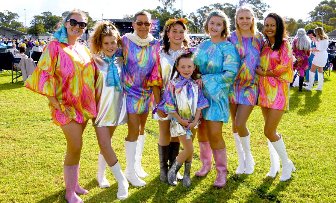 THANK YOU FOR THE MUSIC: Unfortunately there will be no Dancing Queens heading to Trundle in the Parkes Shire again this year because of Covid-19.